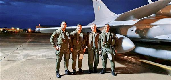 Three more Rafales from France land at Ambala