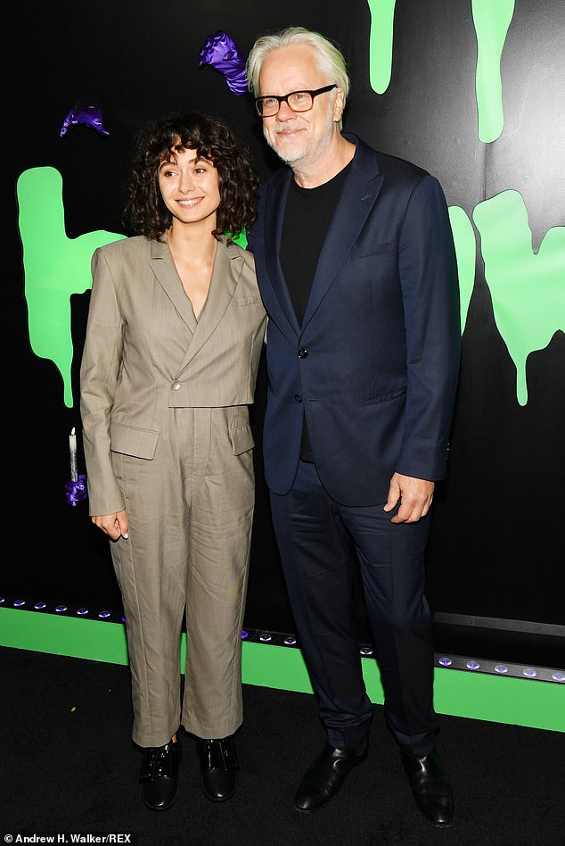 Tim Robbins, 62, files for divorce from his much younger 'secret wife' Gratiela Brancusi
