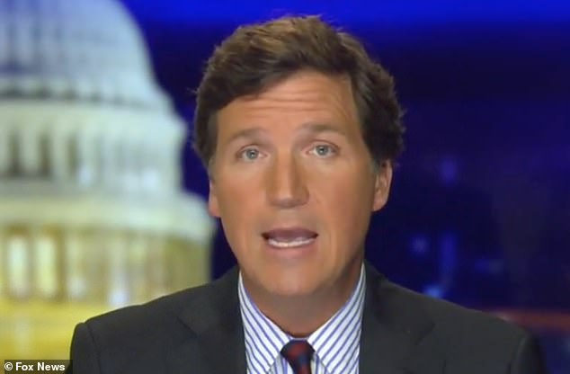 Fox News' Tucker Carlson on Thursday night called out President Donald Trump after he 'recklessly encouraged' his supporters to invade the U.S. Capitol on Wednesday