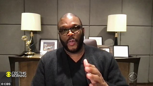 Tyler Perry will televise getting his COVID-19 vaccine to quell 'healthy skepticism' around the shot