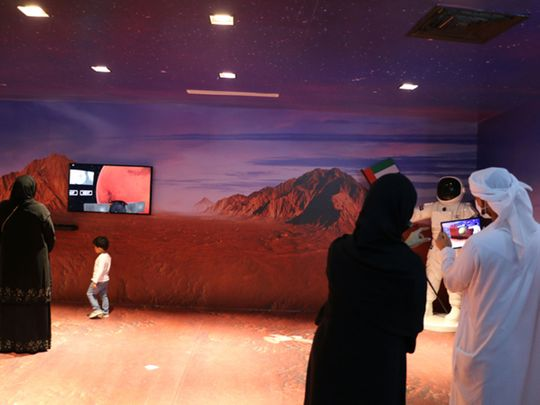 UAE's legacy at the Memory of the Nation Pavilion at the Sheikh Zayed Festival