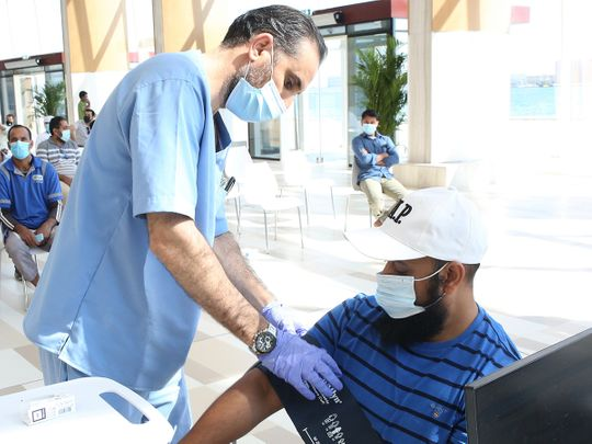 UAE crosses 3 million mark of COVID-19 vaccine doses administered