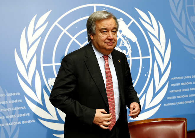 UN chief hopes tensions along India-China border could be lessened through dialogue