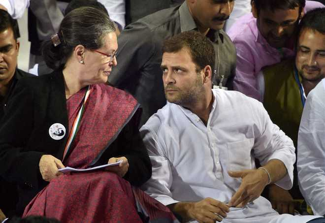 UP BJP MLA blames Sonia, Rahul for violence during tractor parade; Congress hits back