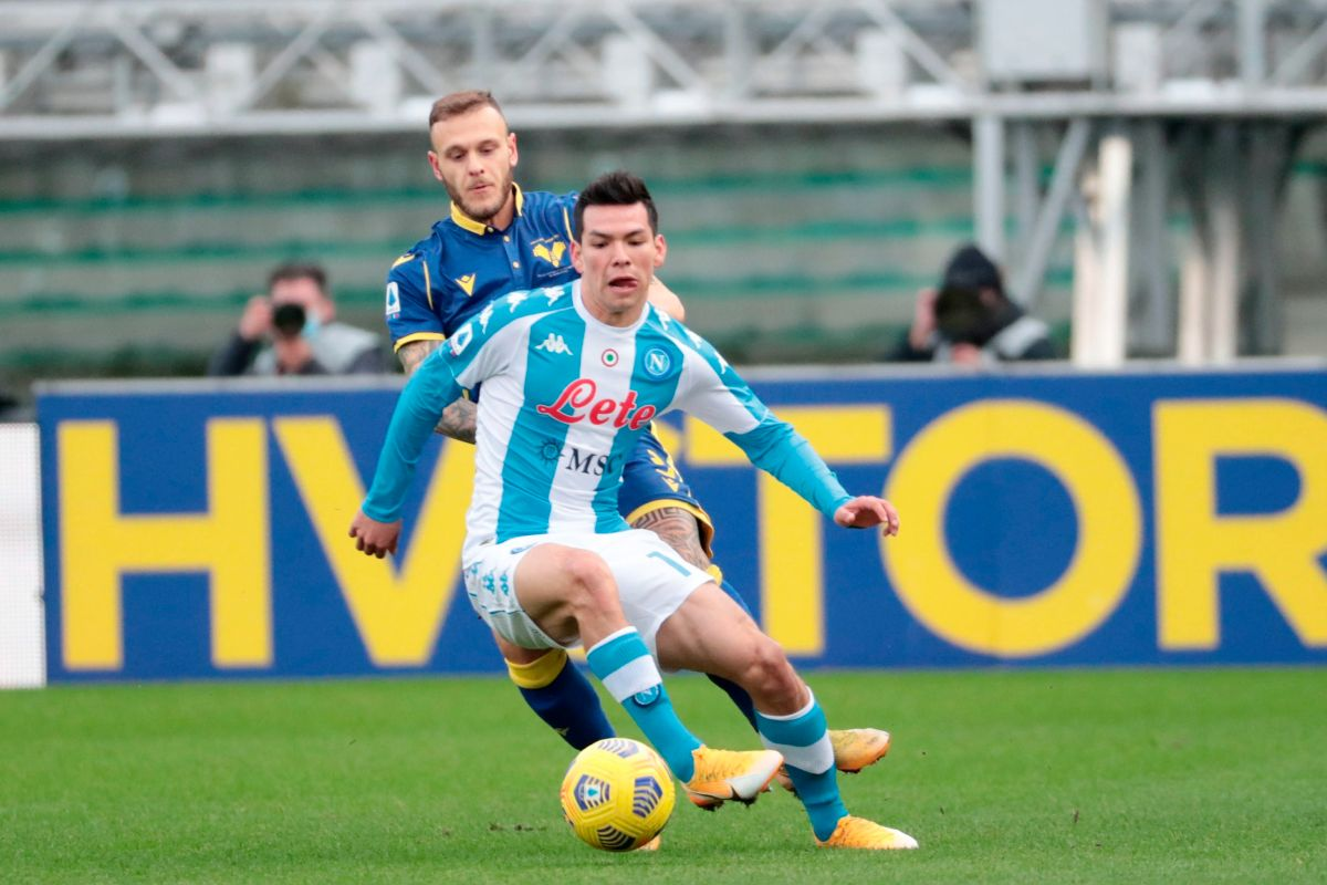 "VIDEO: Fast and Devilish, ""Chucky"" Lozano scored the fastest goal in Napoli's history in Serie A 
