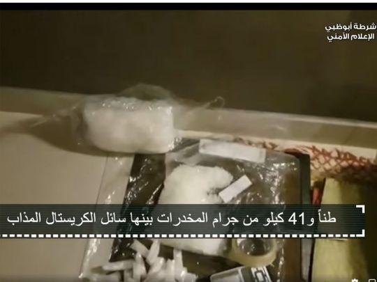 Video: Abu Dhabi Police seize narcotics worth Dh1 billion, bust international gang