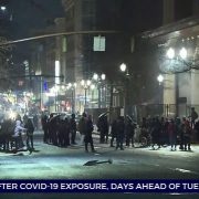 Violent end to 2020 in Portland as riot is declared
