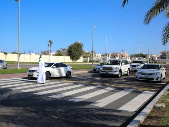 Watch: Abu Dhabi Police urges pedestrians to avoid jaywalking