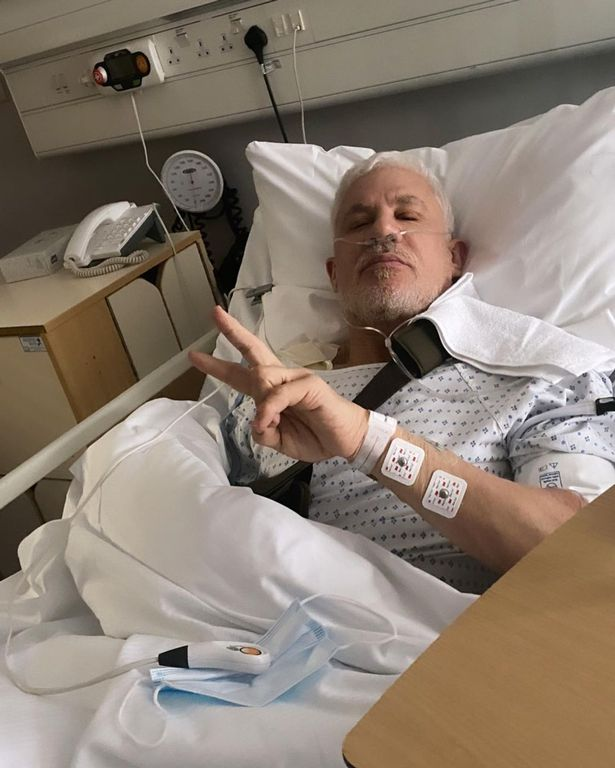 Wayne Lineker has undergone shoulder replacement surgery at a private hospital in London