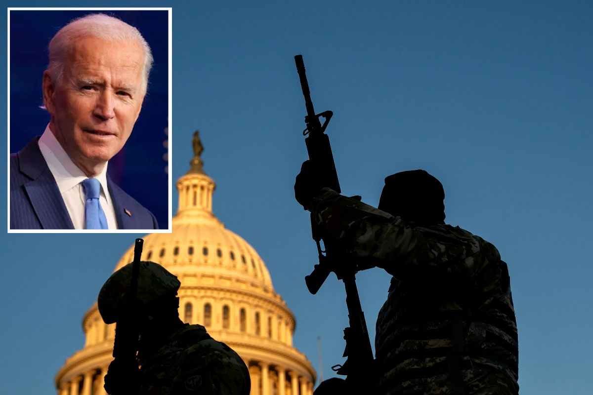 Worried about possible attacks on Joe Biden; withdraw two suspects from the National Guard | The State
