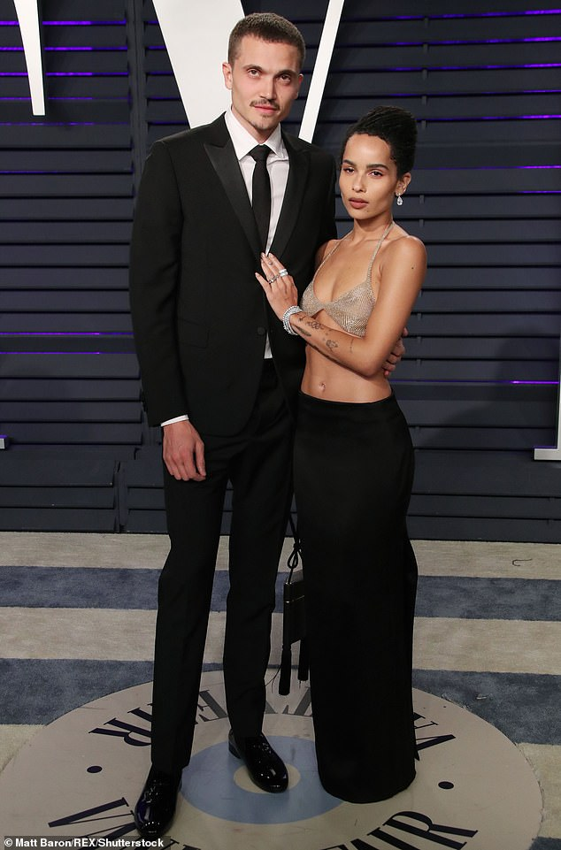 Zoe Kravitz files for divorce from actor husband Karl Glusman after less than two years of marriage