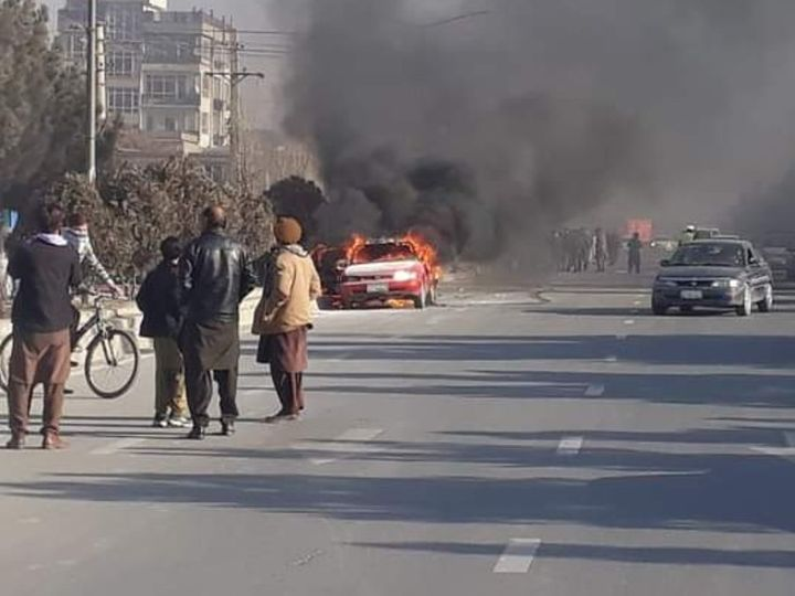 Terrorist attack in Afghanistan: 8 soldiers killed in car bomb attack on military base, Taliban claimed responsibility