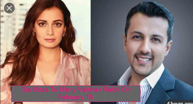 Dia Mirza To Marry Vaibhav Rekhi On February 15