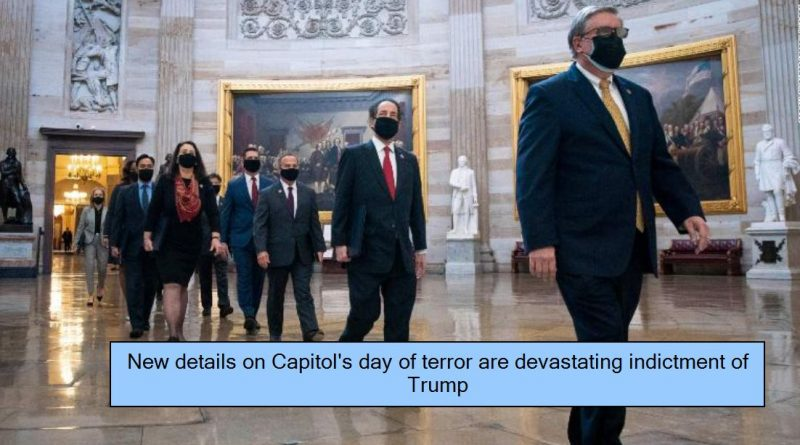 New details on Capitol's day of terror are devastating indictment of Trump