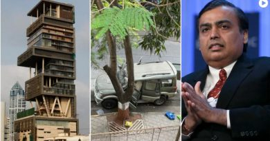 explosives found near mukesh ambani's house in mumbai, fir registered - cities n