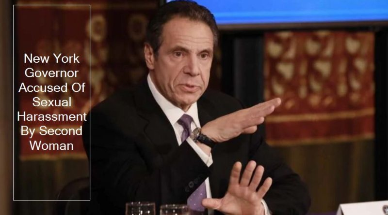 New York Governor Andrew Cuomo Accused Of Sexual Harassment By Second Woman