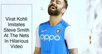 virat kohli hilariously imitates steve smith at the nets. watch