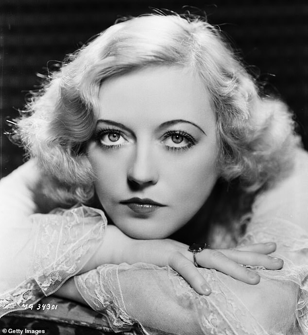 Good job: The blonde beauty was singled out for her performance as Hollywood Golden Age actress Marion Davies in the 2020 film Mank; Davies seen in 1932