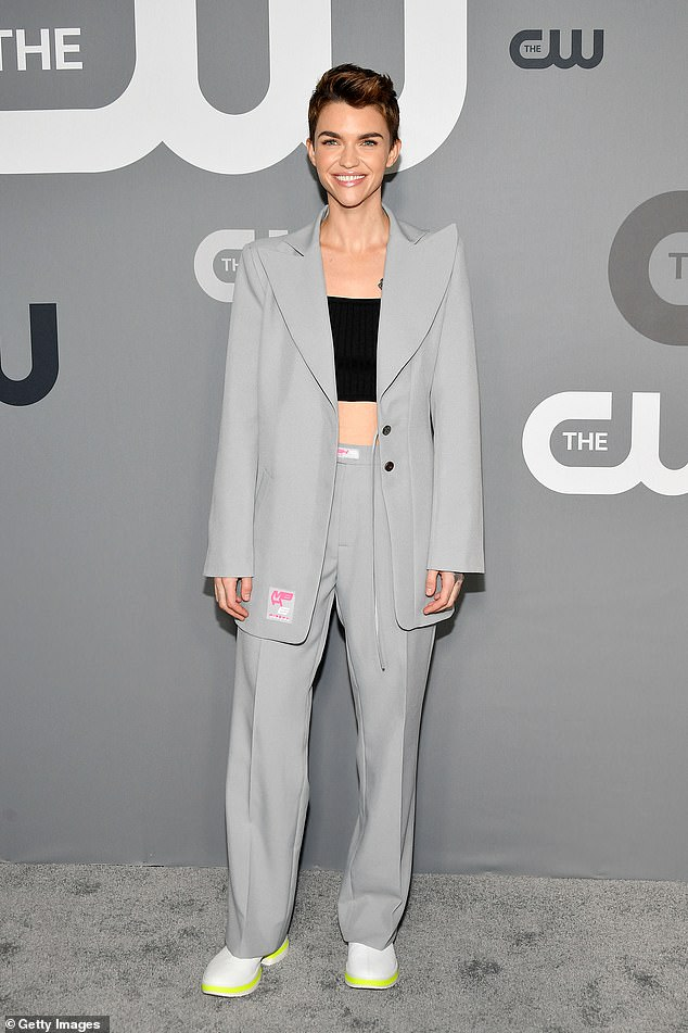Revealing:Aussie actress Rose (seen in May 2020) opened up about her decision to leave the show - where she played cousin of Bruce Wayne, Kate Kane - in October 2020, telling Sirius XM's The Jess Cagle Show that both a back injury and the COVID-19 pandemic made it seem 'like the right thing to do'