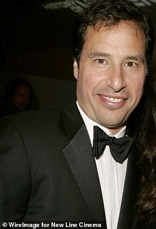 A second source said that Collins and the Duchess are still friends, and that she has also kept her entertainment lawyer Rick Genow (pictured)