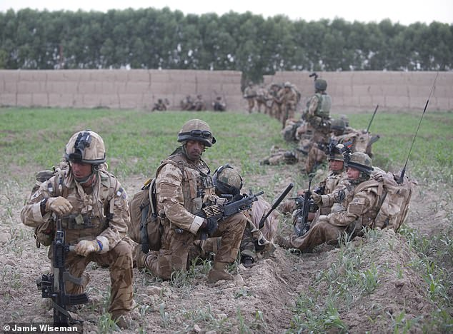 Two soldiers from B company died on the same day, one in a Taliban R.P.G attack on a Scimitar Vehicle, and a second in an I.E.D strike