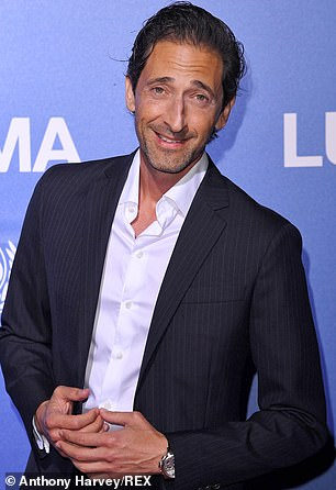 Adrien Brody will star as basketball coach Pat Riley who led the LA Lakers to four championships