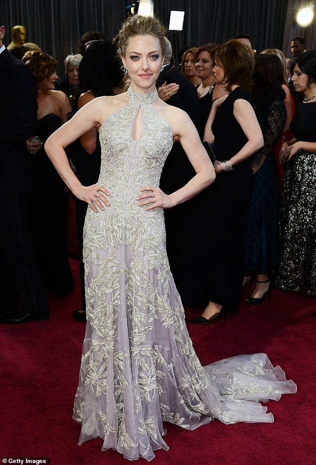 I know where to party! Amanda Seyfried says it's more fun backstage at the Oscars. Seen at the Academy Awards in 2013
