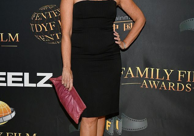 Bewitched star Erin Murphy, 56, who played Tabitha is a blonde bombshell at Family Film Awards
