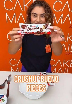 Sydney Cake Mail reveals how to make mini cheesecake BUENO bites in minutes