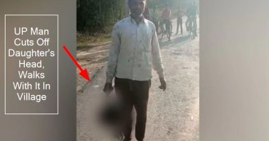UP Hardoi : Man Cuts Off Daughter's Head, Walks With It In Village