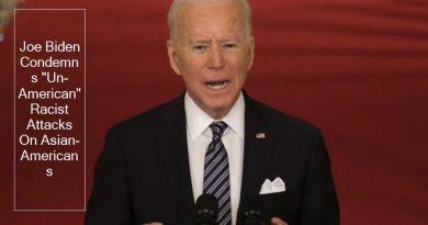 "Joe Biden Condemns ""Un-American"" Racist Attacks On Asian-Americans"