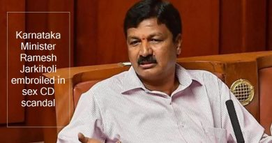 karnataka minister ramesh jarkiholi embroiled in sex cd scandal - india news