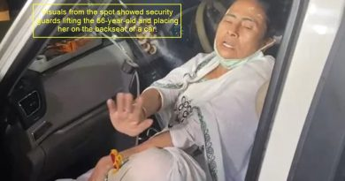 Mamata Banerjee Says Pushed By 4-5 Men While Getting In Car, Injured In Leg
