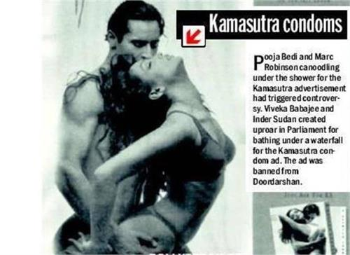 SEXY – Pooja Bedi shares bold stills from controversial condom ad from the 90s