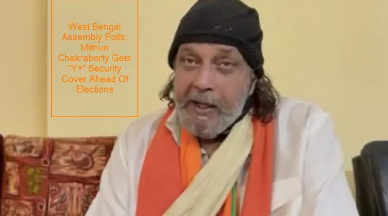 "West Bengal Assembly Polls: Mithun Chakraborty Gets ""Y+"" Security Cover Ahead Of Elections, Says Report"