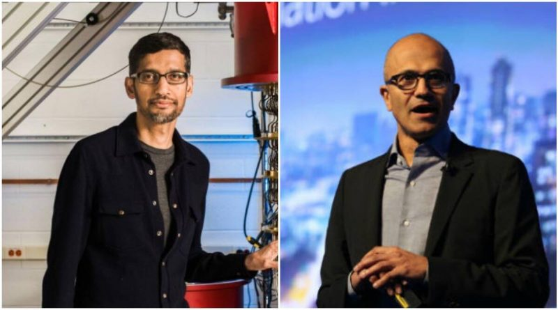 Covid: Google and Microsoft bosses pledge support to India