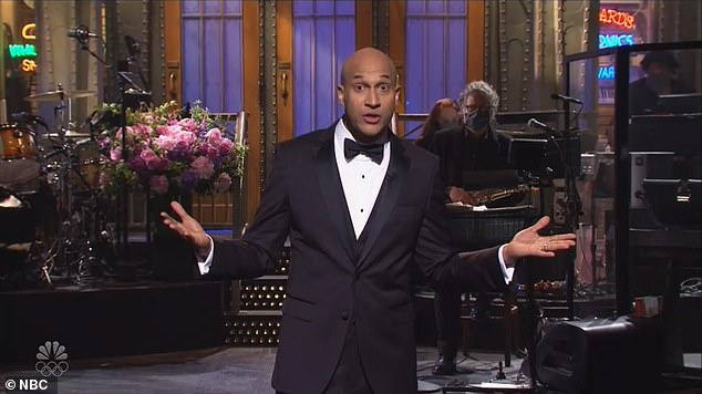 Keegan-Michael Key made his Saturday Night Live hosting debut. The comedian, 50, led this weekend's episode of the sketch comedy show