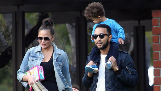 Chrissy Teigen Heads To Disneyland With John Legend & Kids After Apology To Courtney Stodden