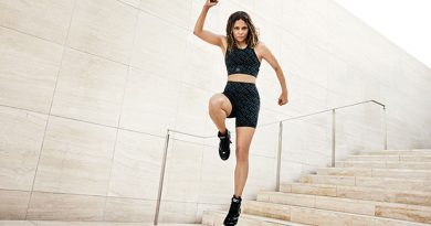 Halle Berry, 54, Rocks A Crop Top & Shorts To Workout For New Sweaty Betty Campaign — Pics