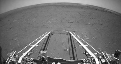China releases first images from its Zhurong rover on Mars