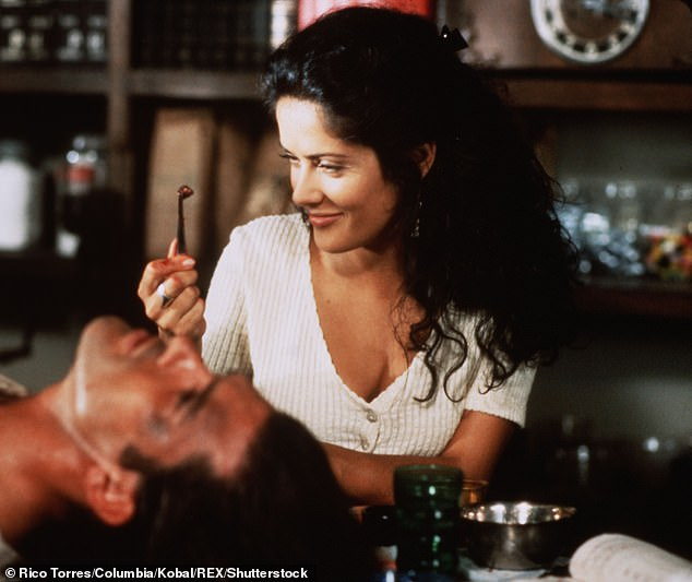 One of her first big hits: The siren with Antonio Banderas in the 1995 film Desperado