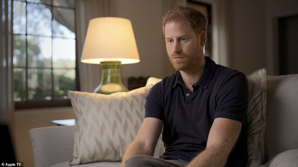Prince Harrywas filmed having a form of therapy known as EDMR (Eye Movement Desensitisation and Reprocessing)
