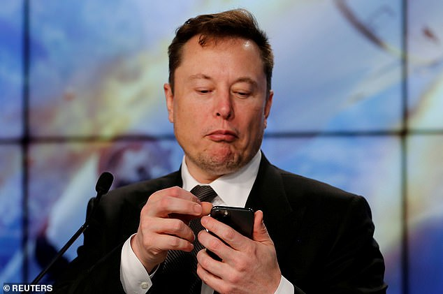 CEO Musk tweeted last week to say the electric car manufacturer 'has suspended vehicle purchases using Bitcoin' (stock image)