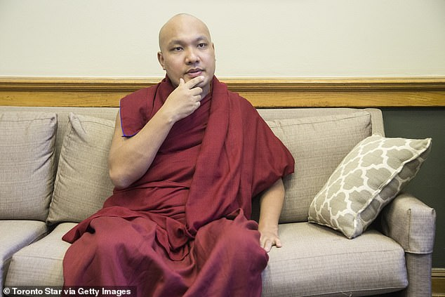 Dalai Lama heir is sued for child support and maintenance by a former nun
