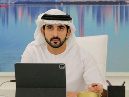 Dubai: Sheikh Hamdan welcomes twins