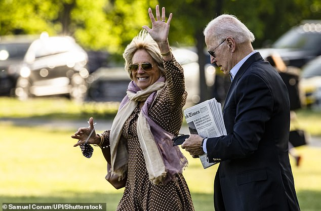 Joe and Jill Biden's income fell from $985,223 to $607,336 last year, according to their tax return