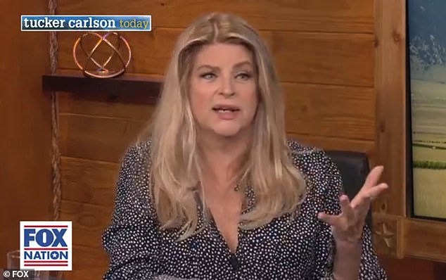 Kirstie Alley tells Tucker Carlson about backlash she faced for publicly supporting Trump