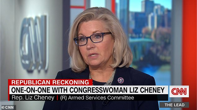 Liz Cheney claims Republicans voted against impeaching Trump as they were 'afraid for their lives'