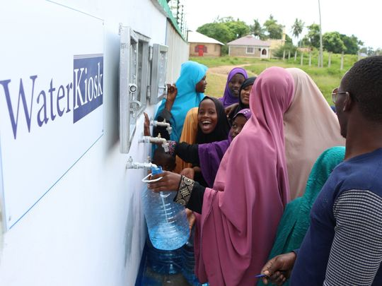 Mohammed bin Rashid Al Maktoum Global Water Award to provide clean drinking water to the needy