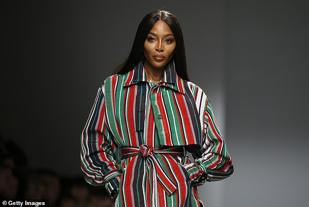 Naomi Campbell, 50, 'is expected to return to work just weeks' after welcoming her daughter